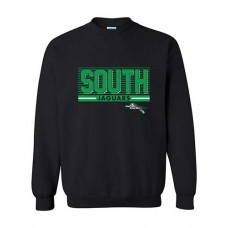 BSS 2021 Football SOUTH Crewneck Sweatshirt (Black)