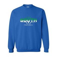 BSS 2021 Football FOOTBALL Crewneck Sweatshirt (Royal)