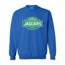 BSS 2021 Football JAGUARS Crewneck Sweatshirt (Royal)