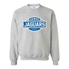 BSS 2021 Football JAGUARS Crewneck Sweatshirt (Sport Grey)