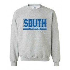BSS 2021 Football SOUTH Crewneck Sweatshirt (Sport Grey)
