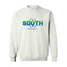 BSS 2021 Football FOOTBALL Crewneck Sweatshirt (White)