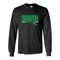 BSS 2021 Football SOUTH Long-sleeved T (Black)