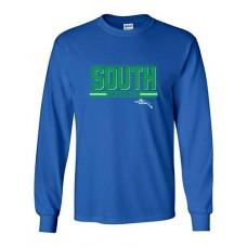 BSS 2021 Football SOUTH Long-sleeved T (Royal)