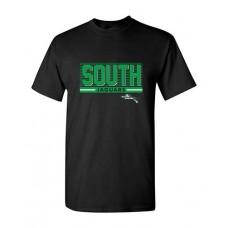 BSS 2021 Football SOUTH Short-sleeved T (Black)