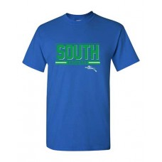 BSS 2021 Football SOUTH Short-sleeved T (Royal)