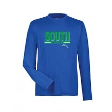 BSS 2021 Football SOUTH Dry-fit Long-sleeved T (Royal)