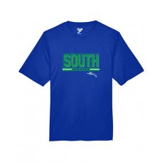 BSS 2021 Football SOUTH Dry-fit Short-sleeved T (Royal)